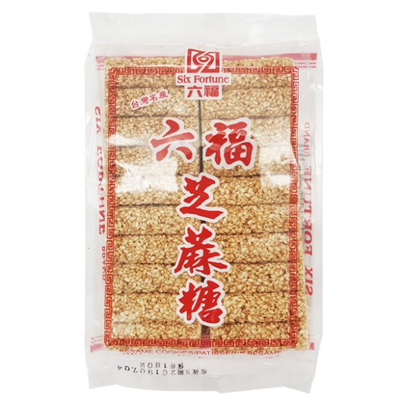 六福芝麻糖170G
