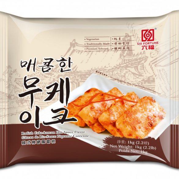 六福冷凍韓式辣醬蘿蔔糕